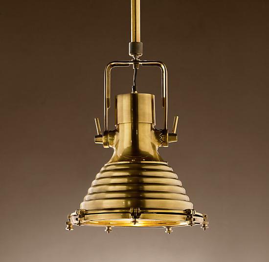 Maritime Pentant_Antique Brass_1