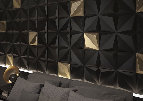 Origami Black and Gold_2