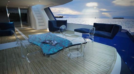 Etoile Blue_lounge table_2