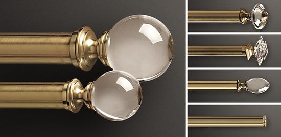 Brass & Crystal