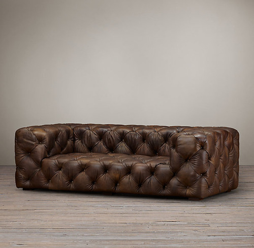 Soho Tufted Leather Sofa_Burnham Cognac_3