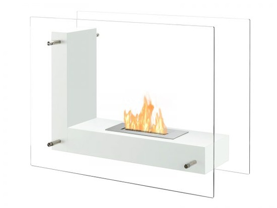 Vitrum-L-White-Freestanding-Ethanol-Fireplace-600x450