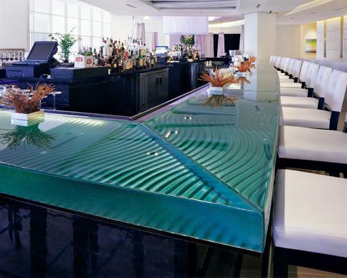装飾ガラスカウンタートップ1
