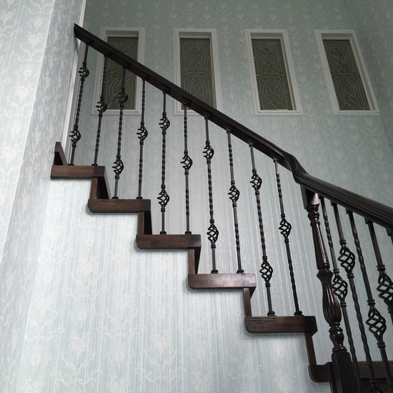 室内階段手すりオーダー作例_3