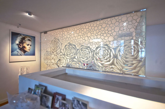 Custom Washi Laminated Glass Walk-in Closet_1