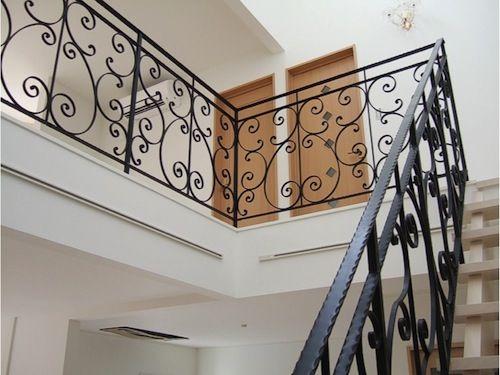 階段手すり8