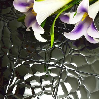 bubble mosaic tile_Black