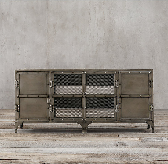 Industrial Tool Chest 4 Door Media_Aged Gunmetal_2