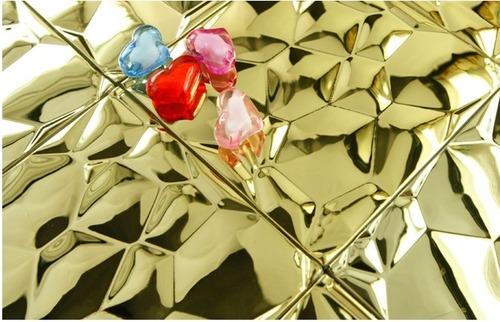 bubble mosaic tile_gold_2_1