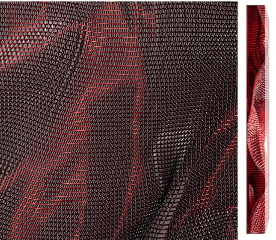 Cangiante Red-Silver