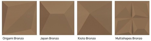 Shapes Bronzo