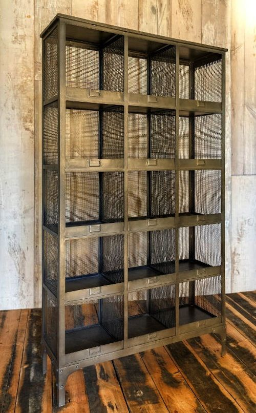 Pigeon hole wire shelving - 15 slot