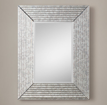 1930s French Beveled Mirror Collection_1