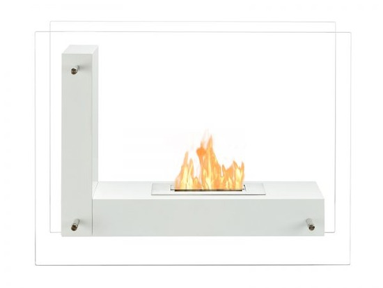Vitrum-L-White-Freestanding-Ventless-Ethanol-Fireplace-600x450