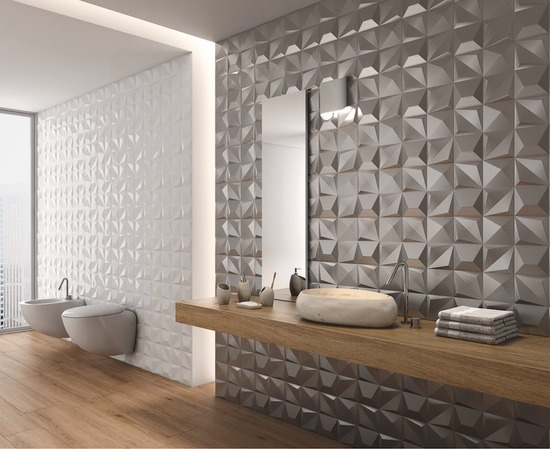 Multishapes White Gloss and Silver _1