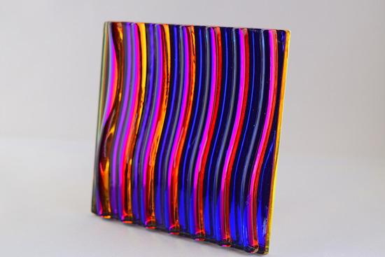 Wavy Violet to Black textured_1