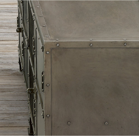 Industrial Tool Chest 4 Door Media_Aged Gunmetal_5