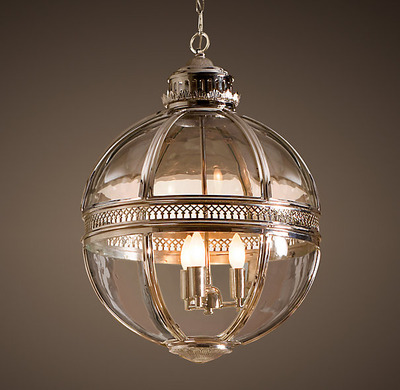 Victorian Hotel Pendant_Polished Nickel_1