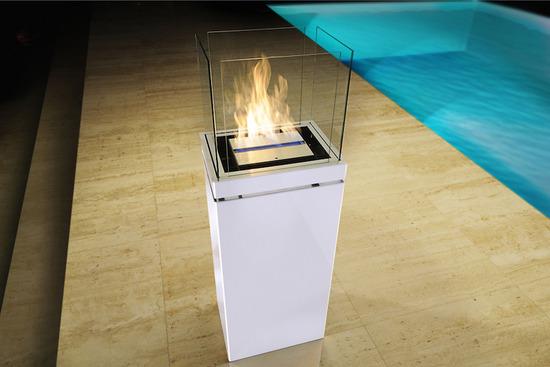 Kamine high flame