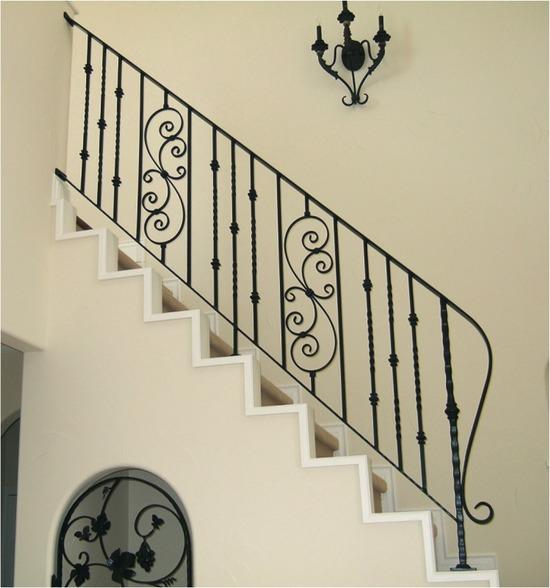 階段手すり7