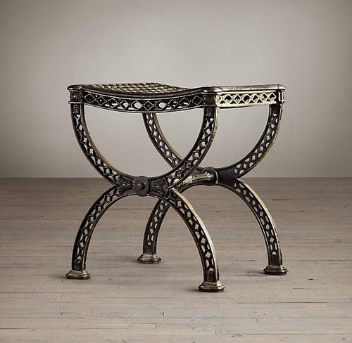 French Filigree Stool_1