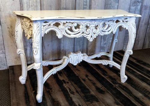 Louis wooden console table