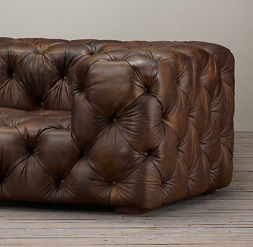 Soho Tufted Leather Sofa_Burnham Cognac_1