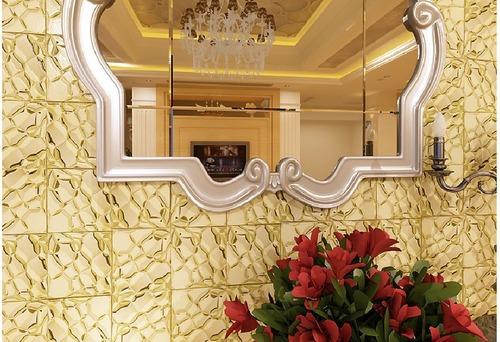 bubble mosaic tile_gold_1