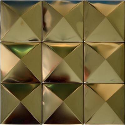 pyramid mosaics tile gold