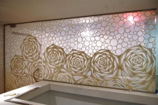 Custom Washi Laminated Glass Walk-in Closet_4