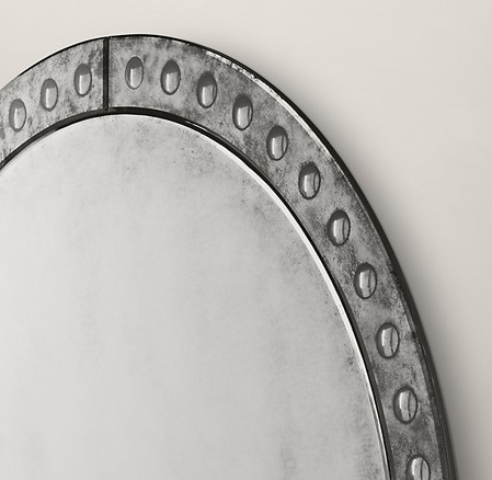 Palazzo Antiqued-Glass Round Mirrors_2
