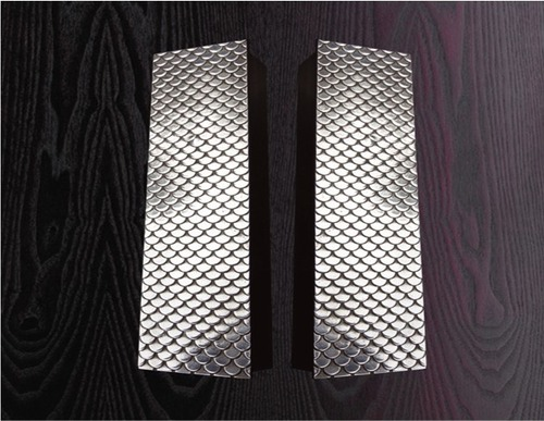 Pad handle - Fish scale