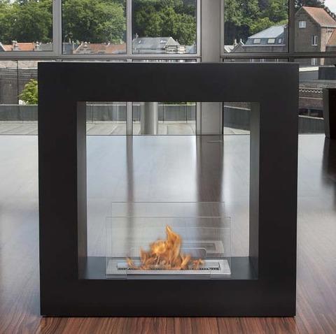 エタノール燃料暖炉qube small