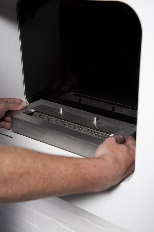 Installation - Step 2 - Insert the burner