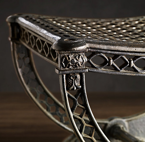 French Filigree Stool_4
