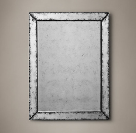Venetian Antiqued Glass Mirror_1