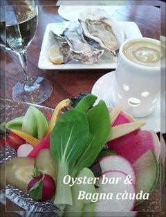 Oyster bar Bagna cauda