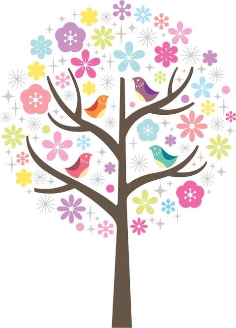 春っぽい木