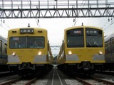 2007.9.1-南入曽基地電車夏まつり-225FとN101系(快急表示)