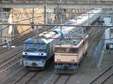2008.2.24-西武38102F甲種-EF210+38102FとE31の並び