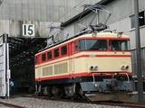 2007.9.1-南入曽基地電車夏まつり-E34(パンタ2基あげ別角度)