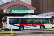 2017.4.8-ももクロ臨時バス-ふじみ野駅東口臨時駅名標と川観車両