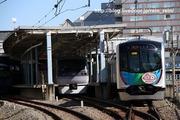 2020.3.15-40152Fカナヘイ,本川越駅到着(後撃ち)