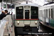 2020.3.11-西武新宿駅ホームドア,4000系入線試験
