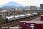 2019.10.26-001系E甲種,静岡貨物,富士山