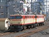 2008.2.24-西武38102F甲種-E31送込回送(所沢側線進入)