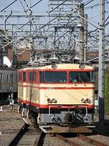 2008.2.24-西武38102F甲種-E31送込回送(所沢側線出発)
