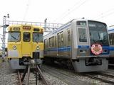 2007.9.1-南入曽基地電車夏まつり-HM付きの6102Fと2000系