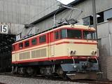 2007.9.1-南入曽基地電車夏まつり-E34(パンタ2基あげ)