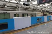 2020.3.11-西武新宿駅ホームドア,大開口部